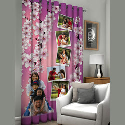 Personalised curtain - Pink