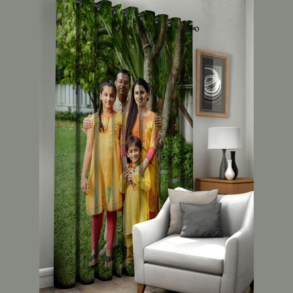 Personalised Curtain Photoexpressin