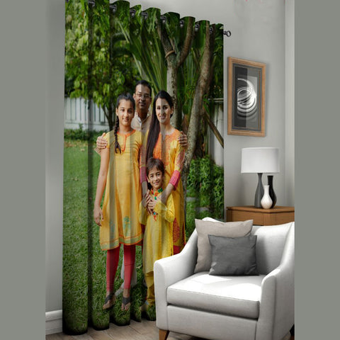 Personalised curtain