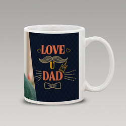 Black Love u Dad Mug