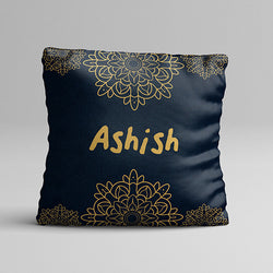 Gold Texture Full Printed Pillow