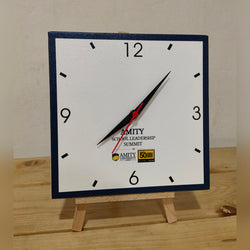 Canvas Clock 8x8