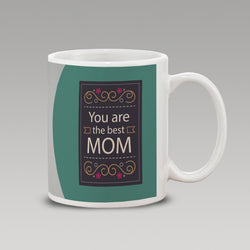 Green Best Mom Mug