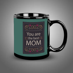 My Mom Balck Mug