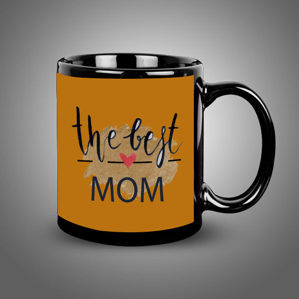 Best Mom Balck Mug