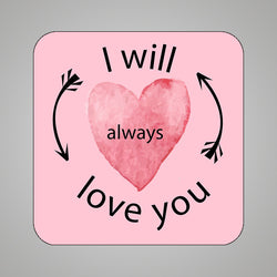 Always Love U3.5x3.5 FM-