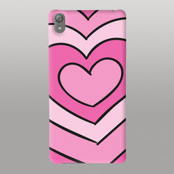 Pink Hrt-Mobile Case