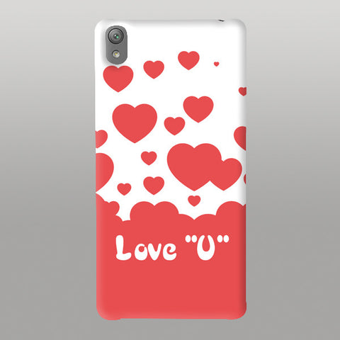 "Love""U""Hrt-Mobile Case"