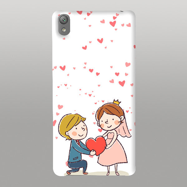 Cute Couple-Mobile Case
