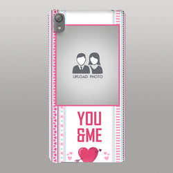 You and Me whit photo Case