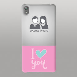 I Love U with pic Case