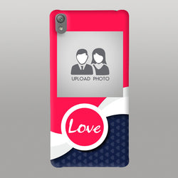 Blue Abstract love case