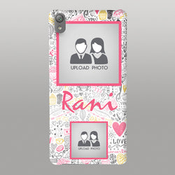 Abstract lovewith photo case