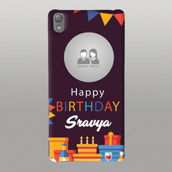 Abstract Happy Birthday Case