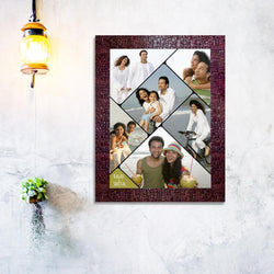 Holiday collage frame