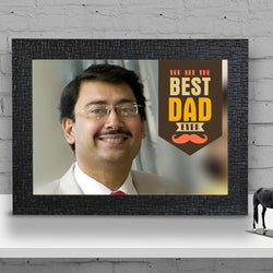 Best Dad wall size Frame