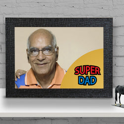 Super Dad wall size Frame