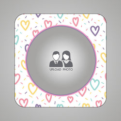 Photo Circle Magnet