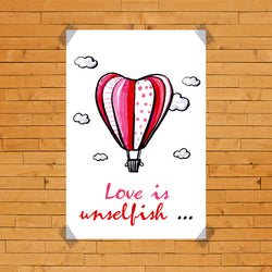Love Unselfish-Poster