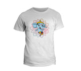 Abstract Blue Ganesh  T-shirt