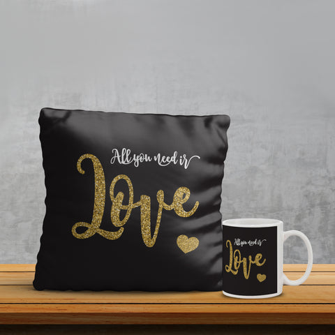 Love Pillow& Mug