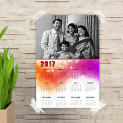 B&W Family poster Calender