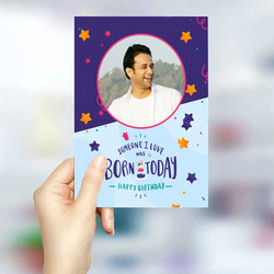 Born Today Greeting Card