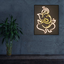 Ganeshji Back Light Frame - 16x20