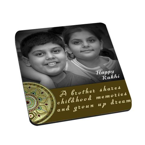 Happy Rakhi Mouse Pad
