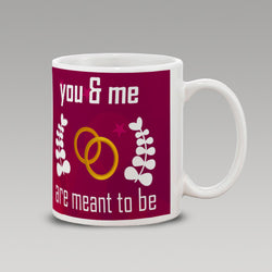 Meant 2 Be Wt-Mug