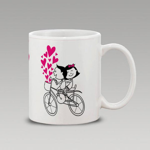 Love Cycle Mug