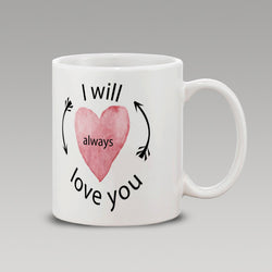 Always Love U.Wt-Mug