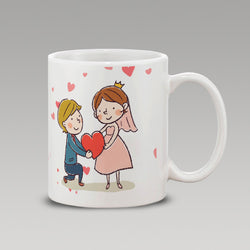 Cute Couple.Wt-Mug