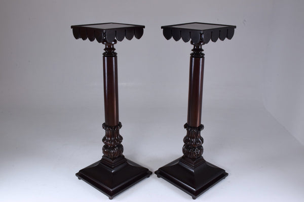 Shop 19th Century Italian Antique Pedestals Columns - Spirit Gallery