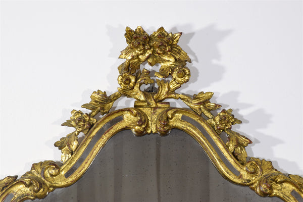 19th Century, Italian Giltwood Mirror - Spirit Gallery