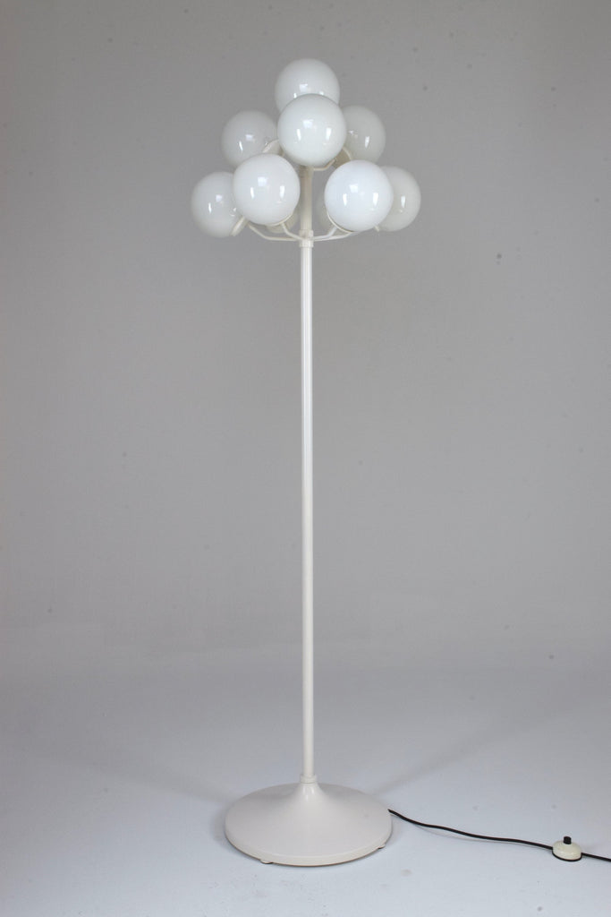 20th Century Boule Floor Lamp Max Bill Style, 1960's - Spirit Gallery