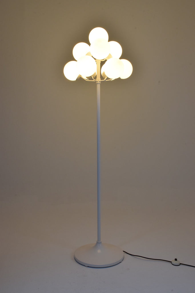 Shop 20th Century Boule Floor Lamp Max Bill Style, 1960's - Spirit Gallery