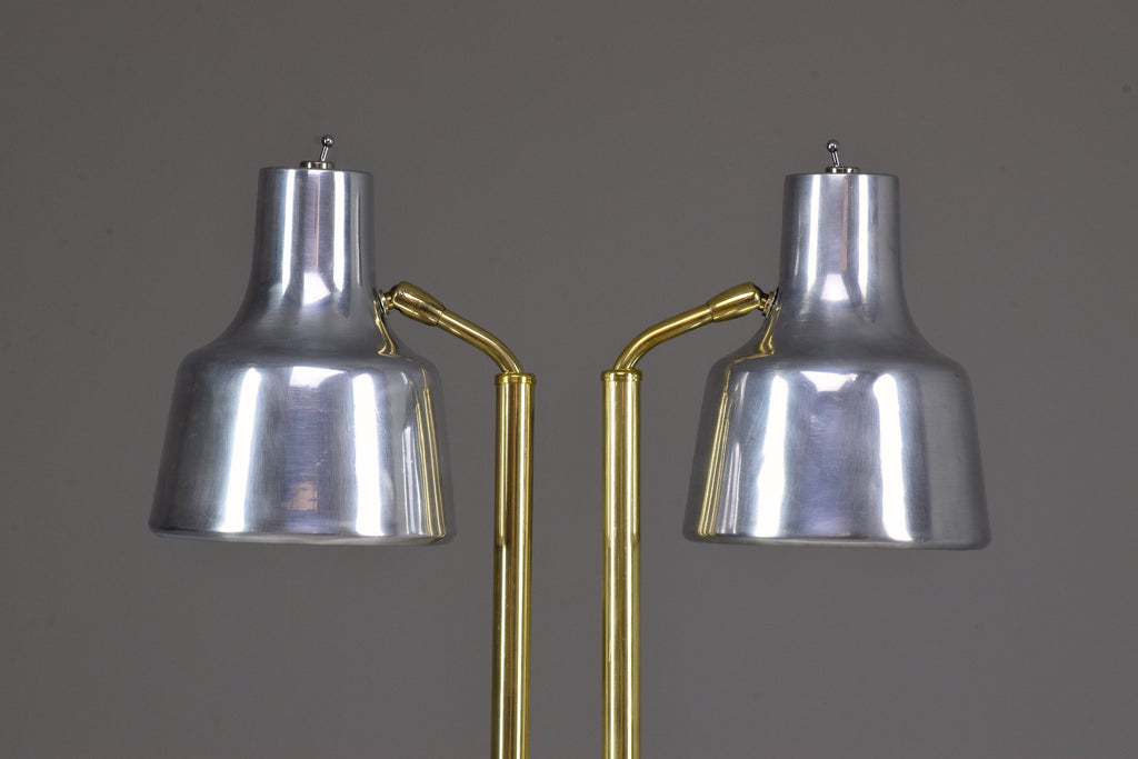 Shop 20th Century Danish Double Floor Lamp by Fog & Morup, 1960's - Spirit Gallery