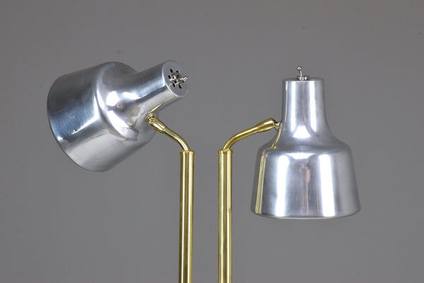 20th Century Danish Double Floor Lamp by Fog & Morup, 1960's - Spirit Gallery
