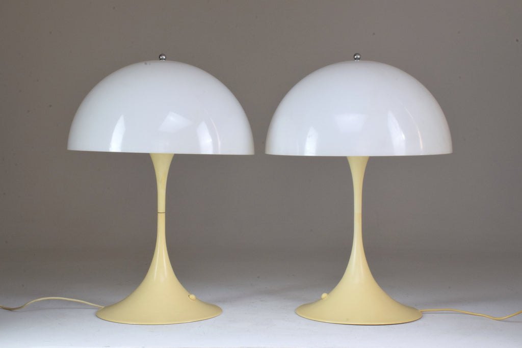 Shop 20th Century Danish Table Lamps by Verner Panton for Louis Poulsen, 1970s - Spirit Gallery