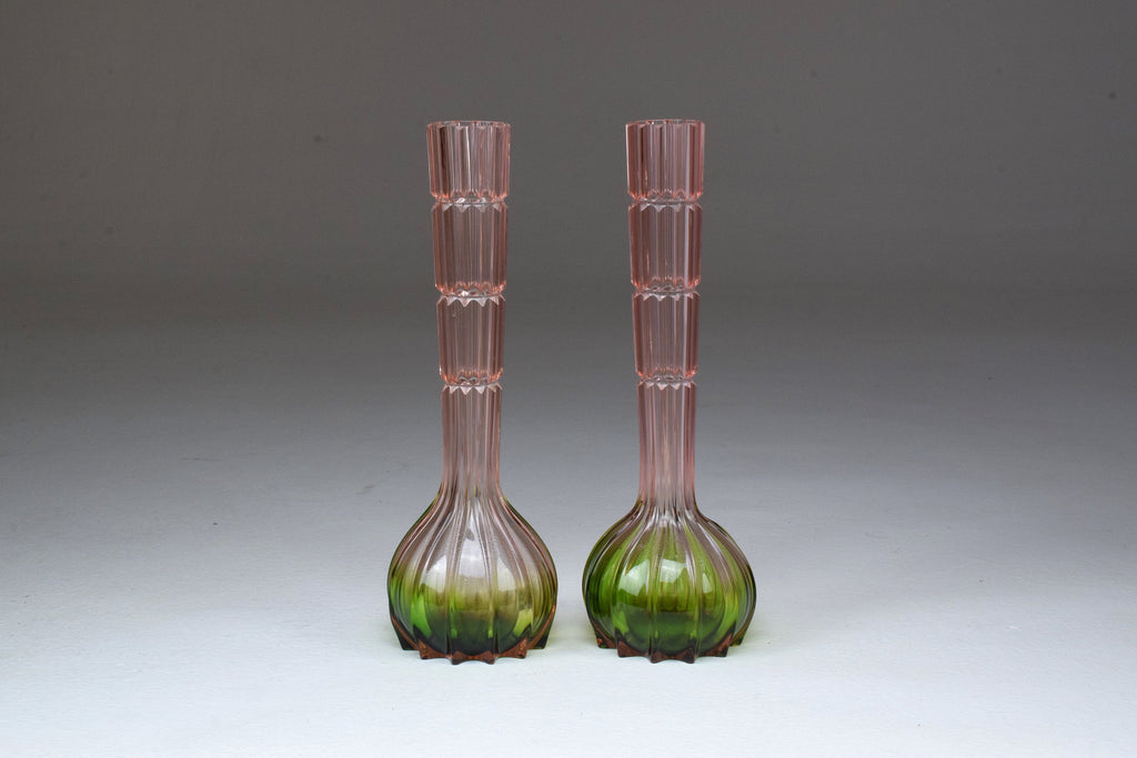 20th Century French Vintage Glass Vases, 1960's - Spirit Gallery