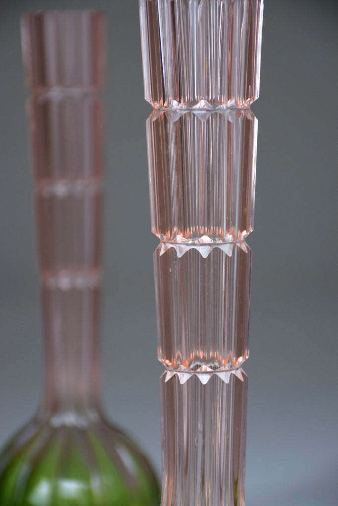 Shop 20th Century French Vintage Glass Vases, 1960's - Spirit Gallery