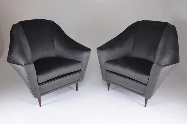 Shop 20th Century Ico Parisi Armchairs for Ariberto Colombo, Set of Two, 1950s - Spirit Gallery