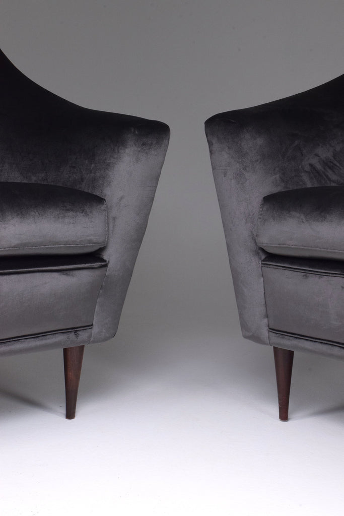 20th Century Ico Parisi Armchairs for Ariberto Colombo, Set of Two, 1950s - Spirit Gallery