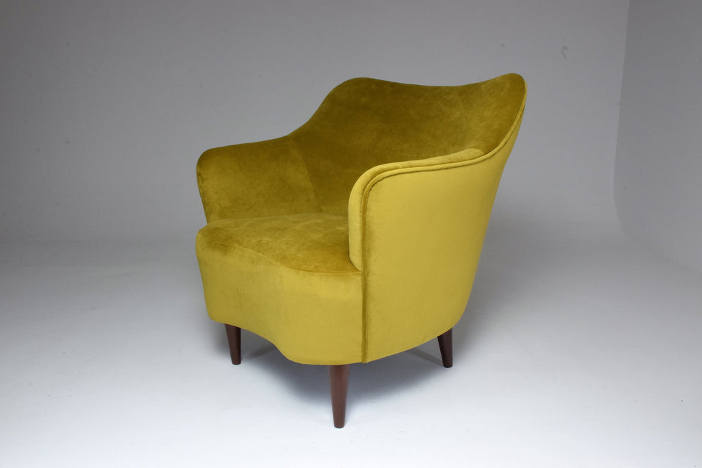 20th Century Italian Armchair by Gio Ponti for Casa e Giardino, 1930s - Spirit Gallery