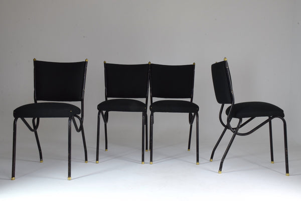Shop 20th Century Italian BBPR Style Dining Chairs, Set of 4, 1950's - Spirit Gallery