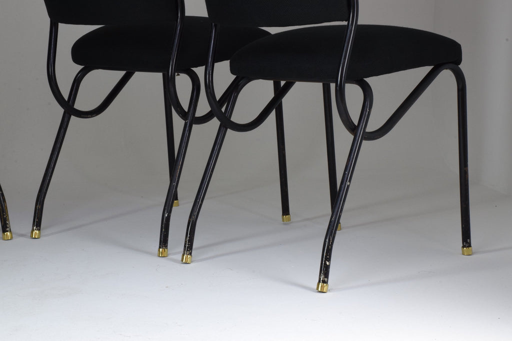 20th Century Italian BBPR Style Dining Chairs, Set of 4, 1950's - Spirit Gallery