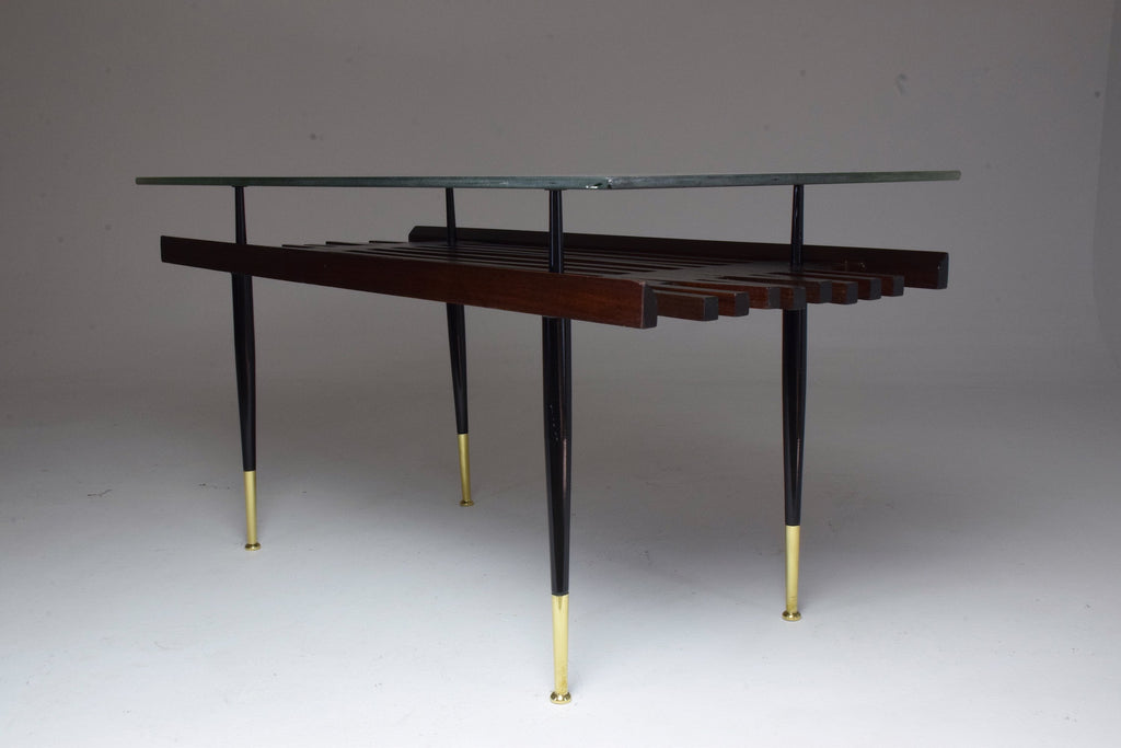 Shop 20th Century Italian Glass Coffee Table, 1950s - Spirit Gallery