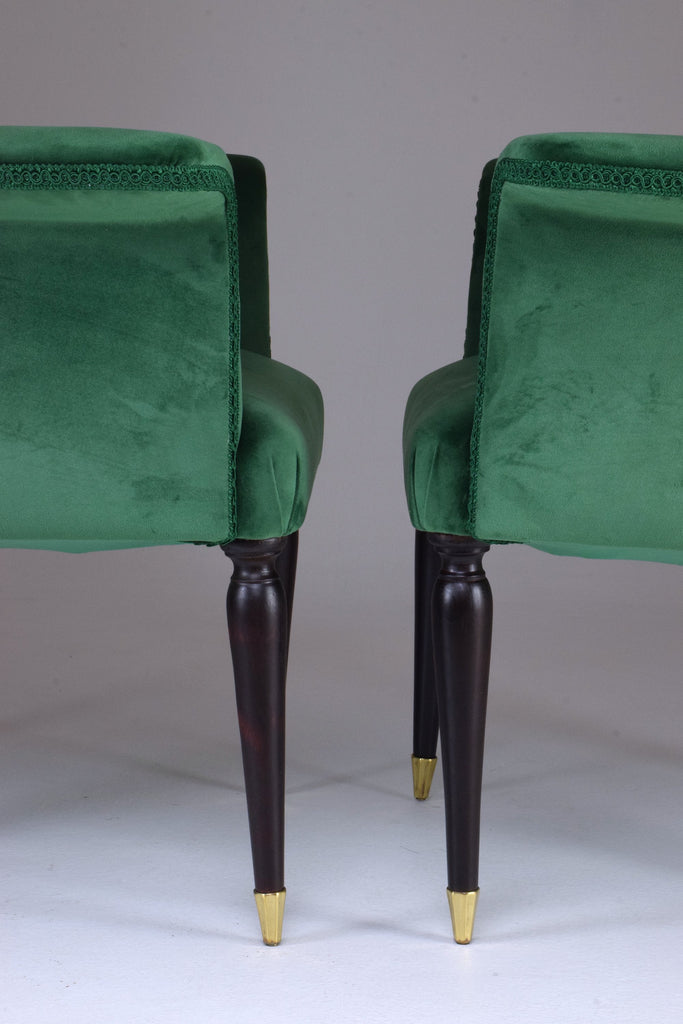 Shop 20th Century Pair of Italian Armchairs by Paolo Buffa, 1940s - Spirit Gallery