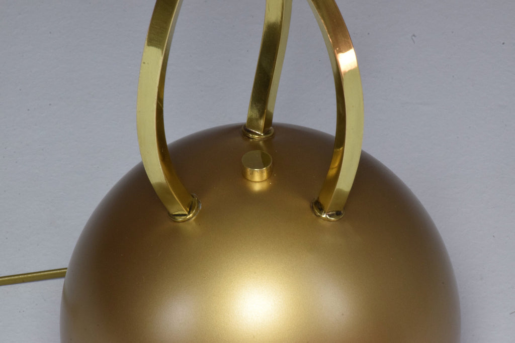 20th Century Rare Brass Floor Lamp by Tommaso Barbi, 1970's - Spirit Gallery